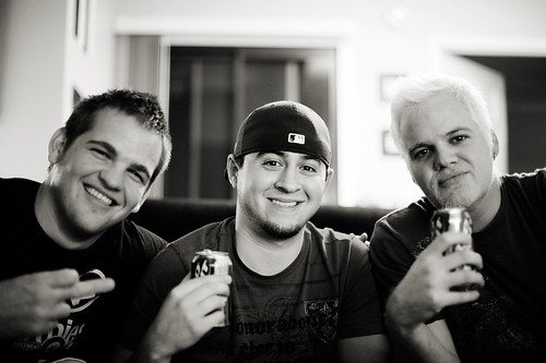 Ty, Davey and me