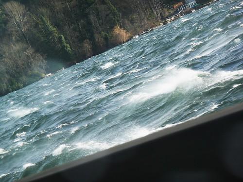 chop on lake washington