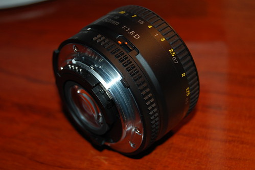 AF-D Nikkor 50mm 1:1.8 (I)