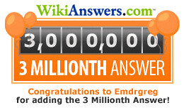 3 millionth answer!