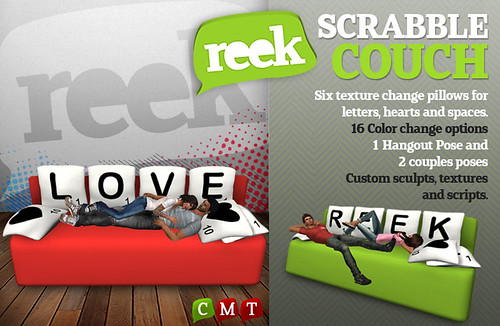 Reek - Scrabble Couch Ad