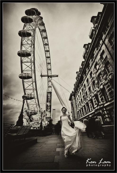 Pre-wedding in London