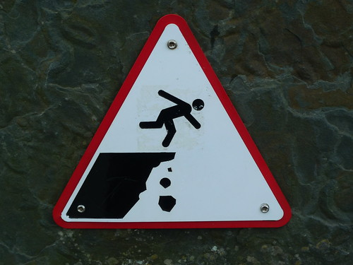 Be Careful, Stick Figure by Flickr user chad_k