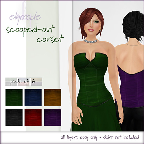 -elymode- vendor corset