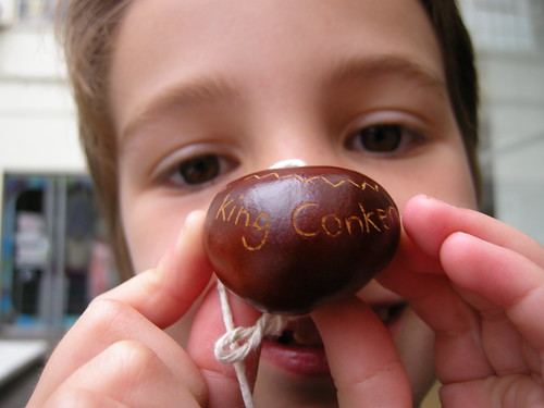 Sunday Local conker fight