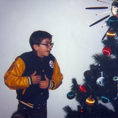 Me in Steeler jacket