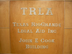 TRLA Edinburg was dedicated to the memory of John Cook