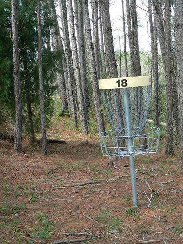 Fun Junktion Frisbee Golf Course - Eighteen