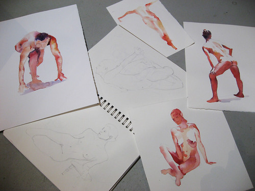Watercolor sketches