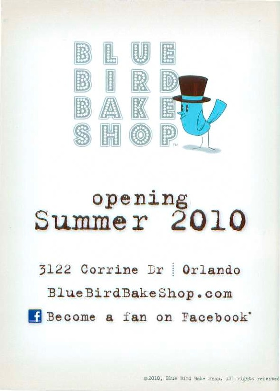 Blue Bird Bake Shop