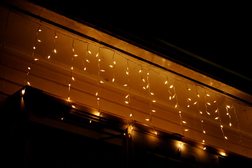 Tuesday: Fairy Lights or I almost forgot the photo