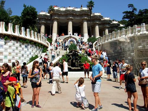 La escalinata del Parque Güell