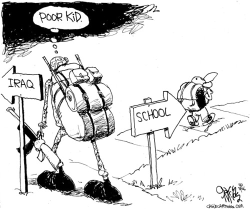 Back to school cartoons por Relief2007.