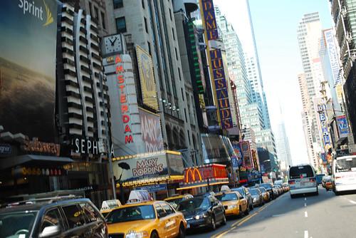 Broadway mid-morning
