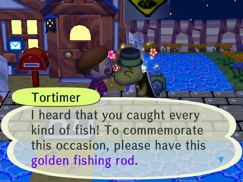 Gimme that Golden Fishing Rod!