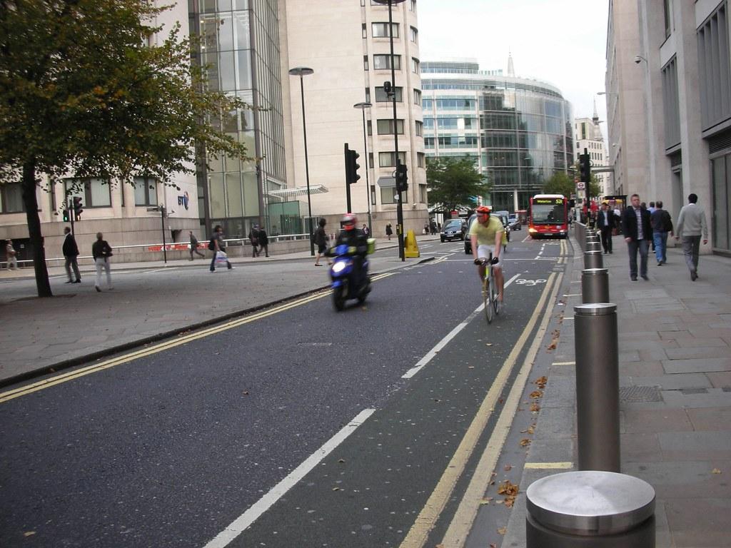A Bike Lane in London