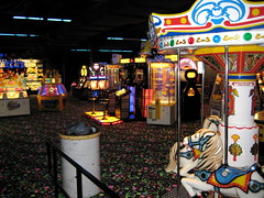 Arcade at the Great Wolf Lodge