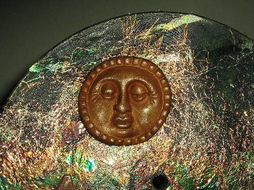 Close Up Shot Of Altered Vinyl