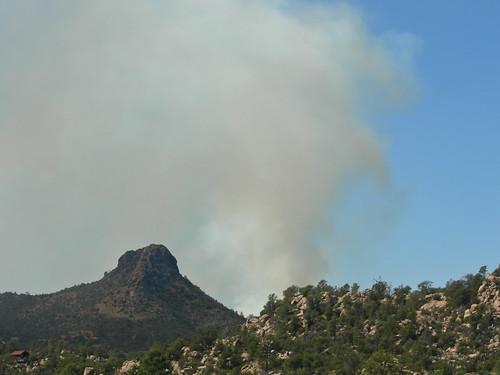 Controlled Burn Near Thumb Butte 2