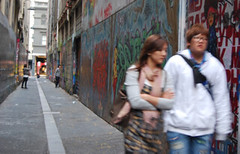 Diversion through Graffiti