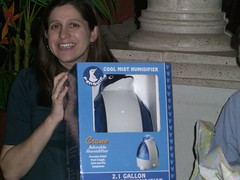 Mr. Penguin, the magical humidifier.
