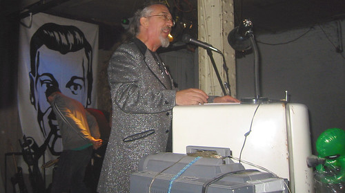 20081115 - SubGenius Devival in Baltimore - 171-7166 - Stang preaching - please click through to leave a comment on FlickR