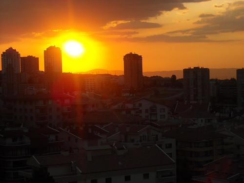 Sunset in Kirkkonaklar