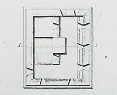 Fort Santa Agueda Plan, 1832