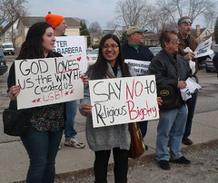 """SAY NO to Religious Bigotry"""