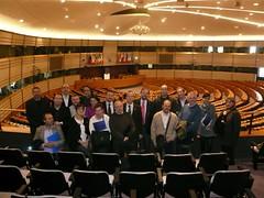 La delegación de CHA, en el Parlamento Europeo