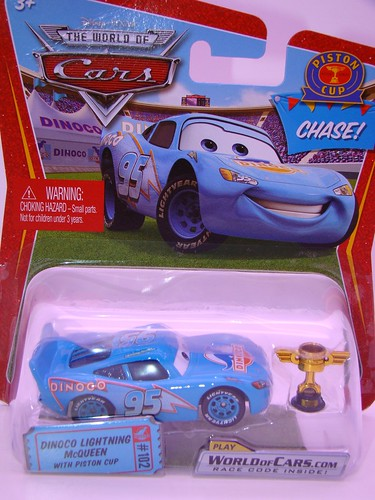 CARS Dinoco McQueen Chase piston cup (1)
