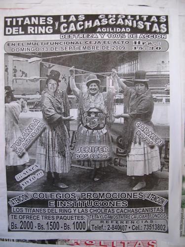 Poster for Cholitas