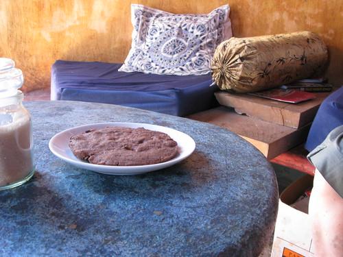 chocolate vegan cookie
