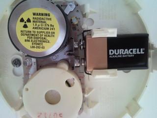 Radioactive Smoke Alarm?