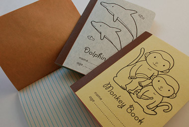 monkey and dolphin books in + out by you.