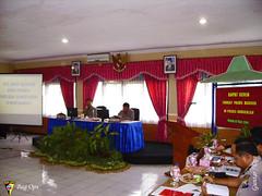 Raker dipimpin oleh Kapolwil Madura Kombes Pol Suro Jouhari