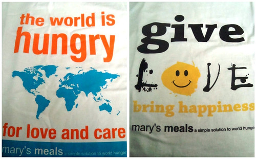 Mary's Meals Tees