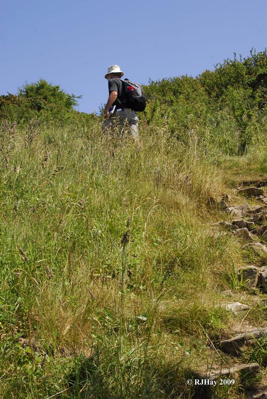 Almost the last climb