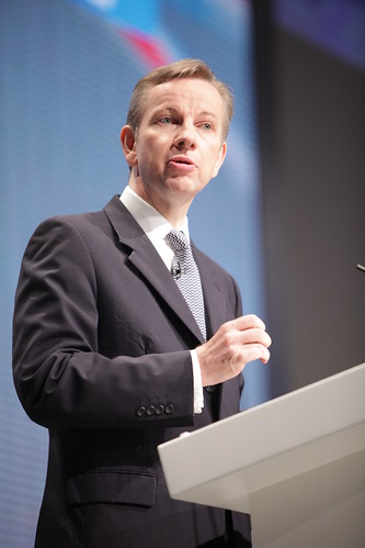 Michael Gove at Conservative Party Conference