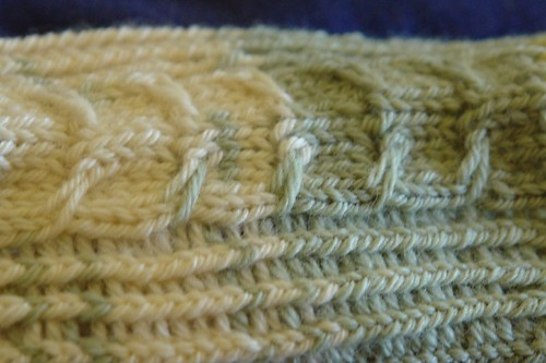 Detail of Fishbone Cable