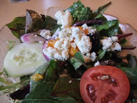 Pronto Side Salad from Caffe DaVinci