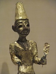 Figurine of the Canaanite God El from Megiddo ...