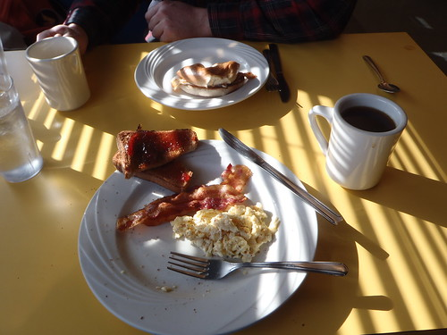 Breakfast at the Seaplane Diner
