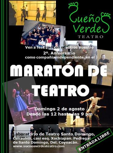 Maratón de Teatro por FặβĪō£ōĝα.