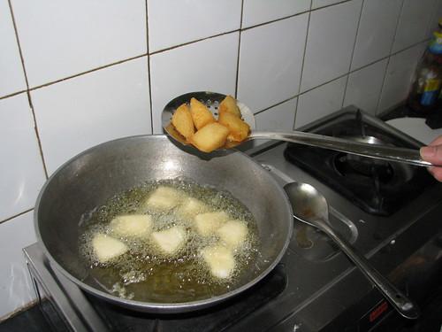 Deep fry till golden brown