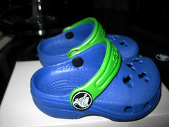 Teeniest Crocs ever!