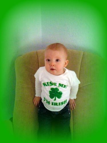 Alyssa on St. Patrick's Day