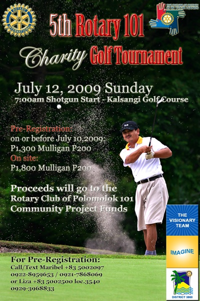 Rotary 101 Polomoloks Charity Golf Tournament