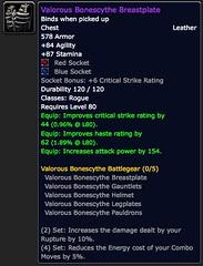 Valorous Bonescythe Breastplate - Item - World of Warcraft