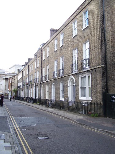 Fitzwilliam Street, Site of Darwin Lodgings (1836-37), Cambridge, England